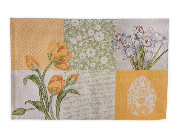 Sander Platzset Bloom Patch gelb