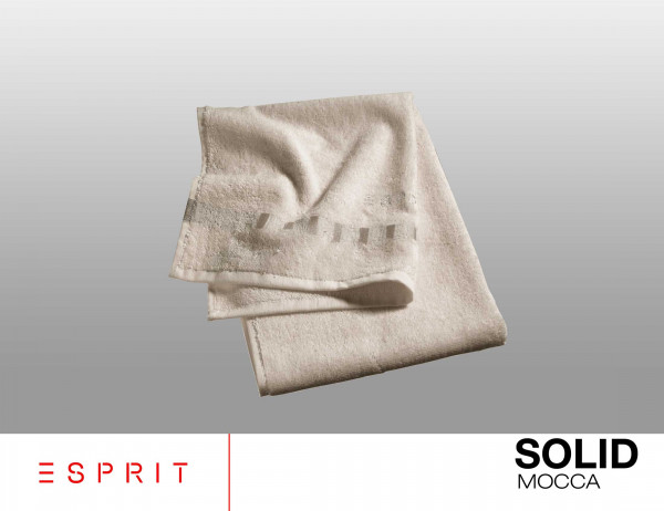 Esprit Frottierserie solid mocca