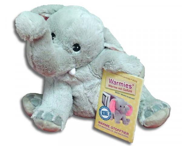 Warmies Wärmekuscheltier Elefant