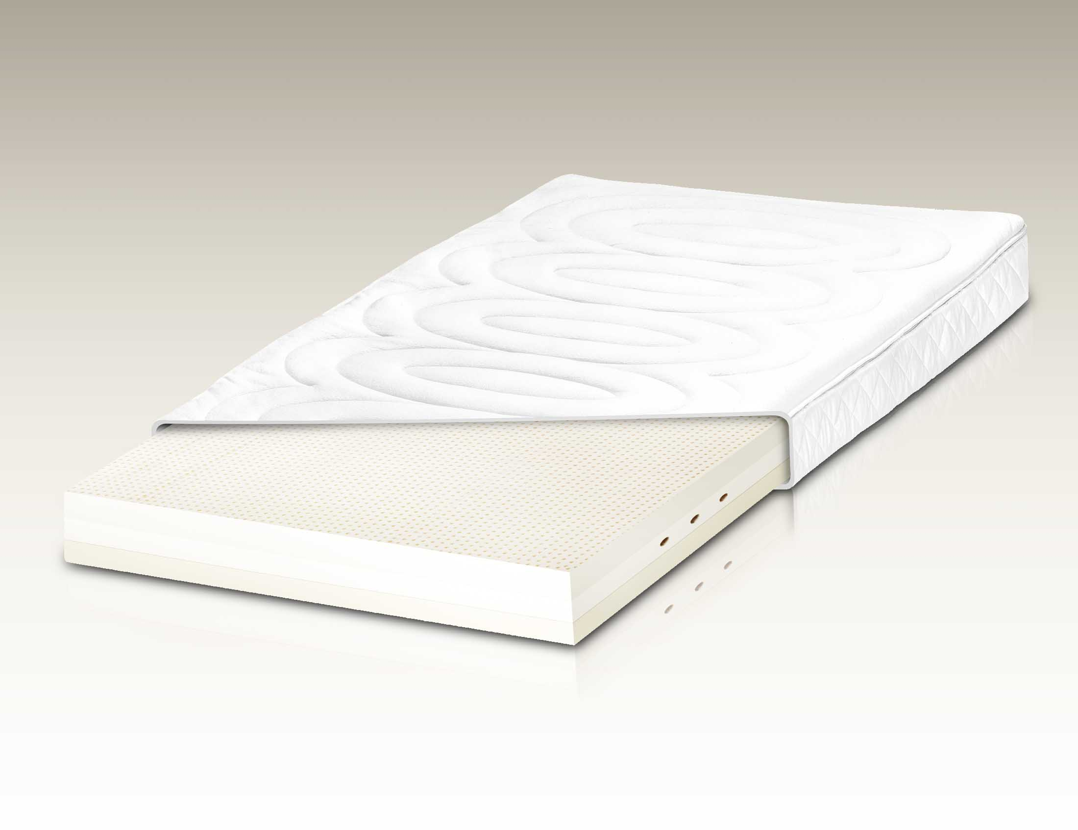 h sler nest naturlatex matratze 2flex 13 cm deluxe. Black Bedroom Furniture Sets. Home Design Ideas