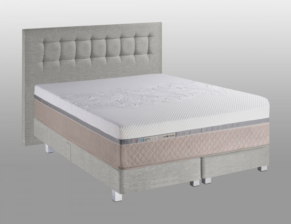 TEMPUR Sealy Boxspring Bett Flat Cushion