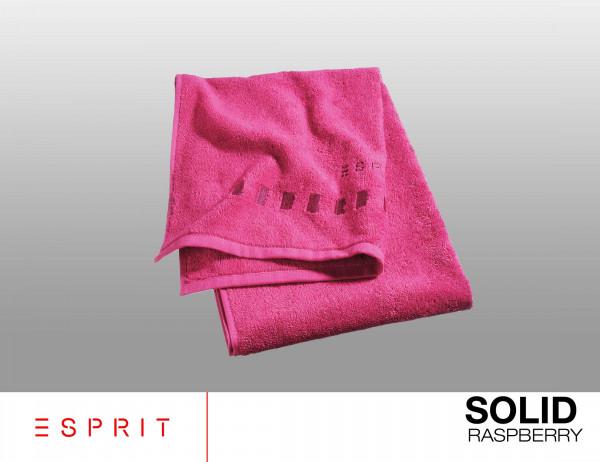 Esprit Frottierserie solid raspberry