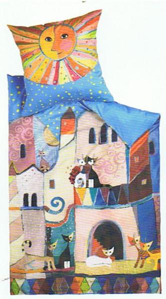 Bettwäsche Little Town
