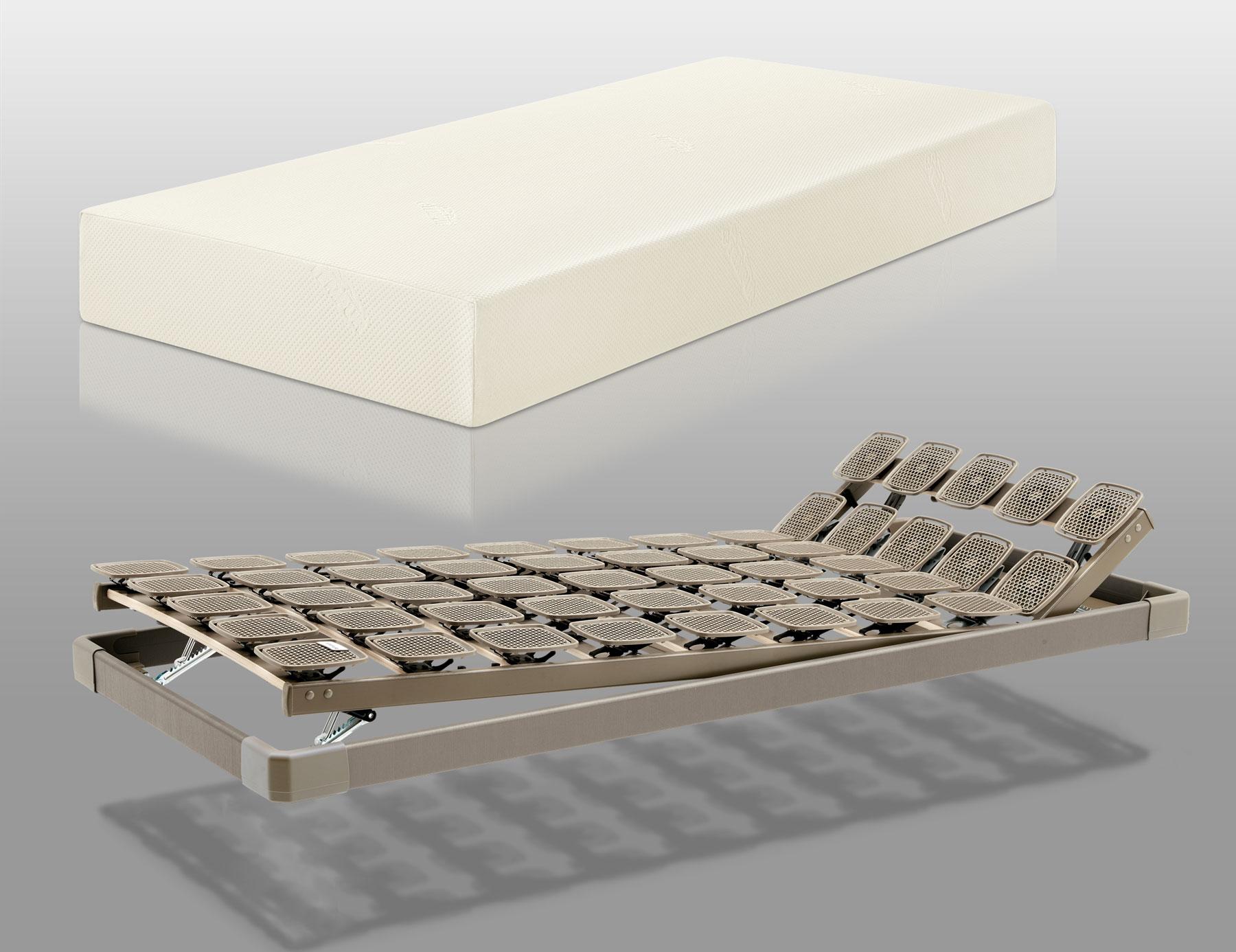 TEMPUR Original 20 Matratze mit Flex 1000 ER Tellerrahmen | Schlafzimmer > Matratzen > Matratzen-Sets | Tempur